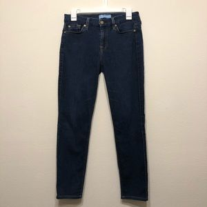 7 For All Mankind B(air) The Skinny Jeans. 27.